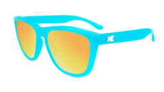 Óculos de Sol Knockaround Premiums - Pool Blue / Sunset