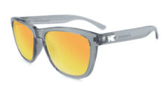 Óculos de Sol Knockaround Premiums Sport - Clear Grey / Sunset