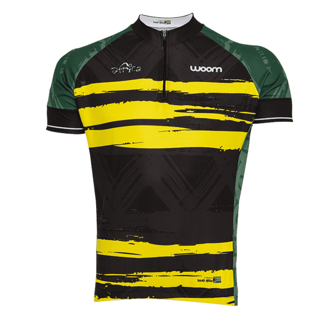 CAMISA CICLISMO WOOM ESSENCE AFRICA 2017 MASCULINA