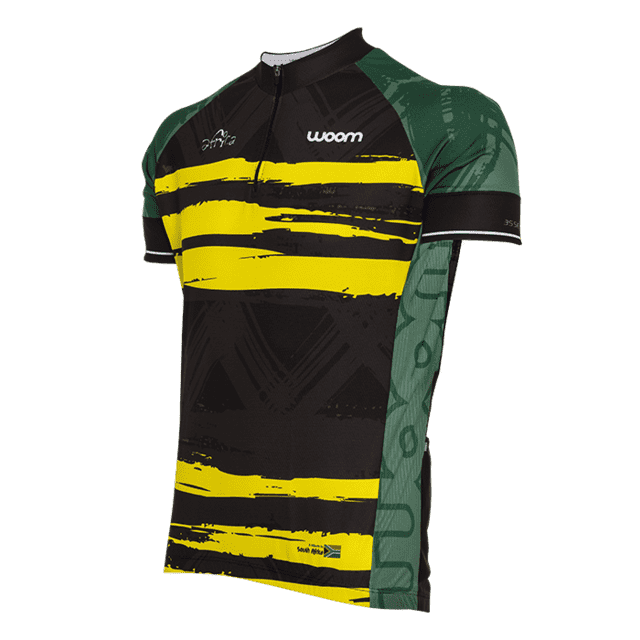 CAMISA CICLISMO WOOM ESSENCE AFRICA 2017 MASCULINA - comprar online
