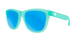 Óculos de Sol Knockaround Premiums - Frosted Rubber Mint / Aqua na internet