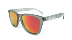 Óculos de Sol Knockaround Classics - Frosted Grey / Red Sunset