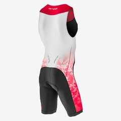 MACAQUINHO TRIATHLON ORCA RACE SUIT PRINT RED MASCULINO - comprar online