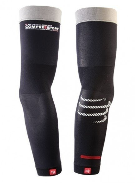 Manguito Compressport Pro Racing Arm Sleeve Watch Space Preto