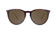 Óculos de sol Knockaround Mary Janes - Glossy Tortoise Shell / Amber - comprar online