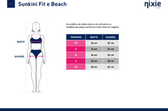 Sunkini Fit - Square Mix - loja online