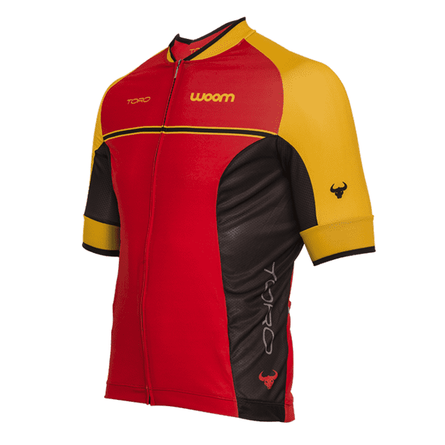 CAMISA CICLISMO WOOM SUPREME TORO 2017 MASCULINA - comprar online