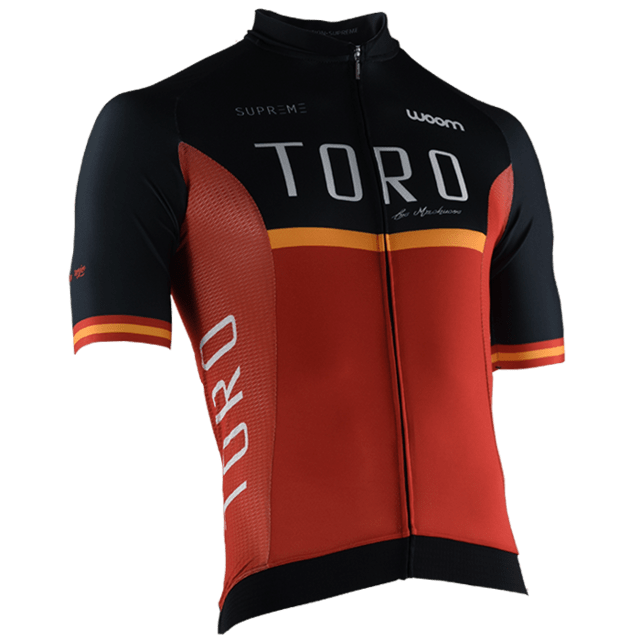 CAMISA CICLISMO WOOM SUPREME TORO 2018 MASCULINA - comprar online