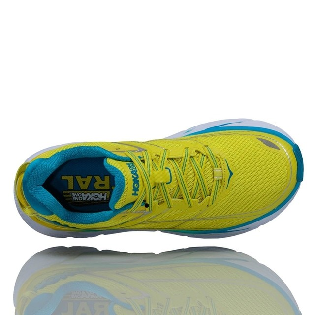 TÊNIS HOKA ONE ONE CLIFTON 3 FEM - AMA/AZL - TRI Designs