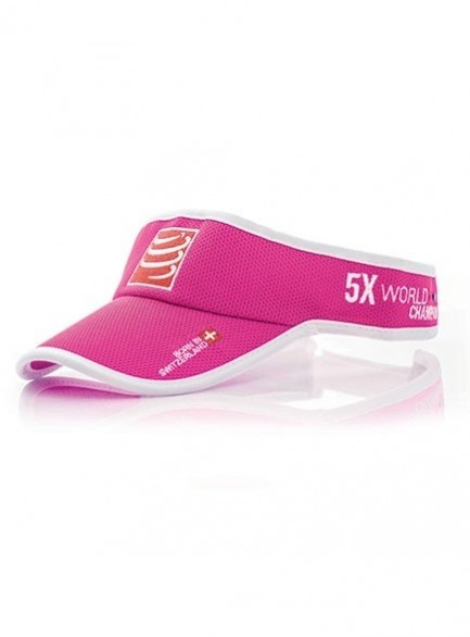 Viseira Compressport Rosa