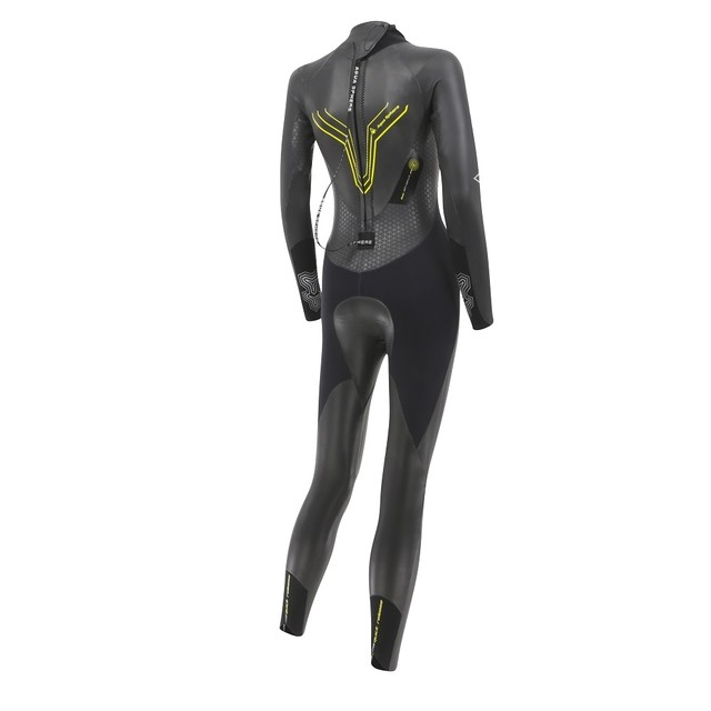 ROUPA DE BORRACHA WETSUIT AQUA SPHERE W PURSUIT 2016/2017 NEW - TRI Designs