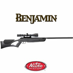 Rifle Crosman Nitro Piston Benjamin NPS + Mira 3-9x40