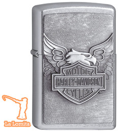 Encendedor Zippo - HD Iron Eagle con Relieve !