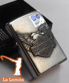 Encendedor Zippo - HD Iron Eagle con Relieve ! en internet