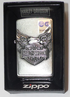 Encendedor Zippo - HD Iron Eagle con Relieve ! - La Lomita Outdoors