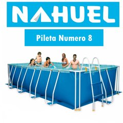 Pileta Rectangular de Lona Nahuel Nº 8 Familiar en internet