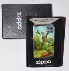 Encendedor Zippo - Linda Picken Collection - Pheasants Red BA 28775 - comprar online