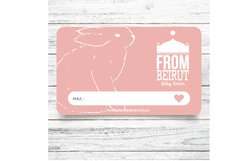 Gift Card From Beirut - comprar online