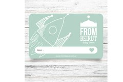 Gift Card From Beirut