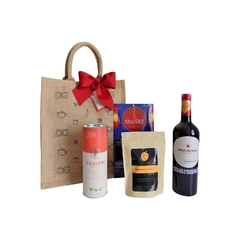RED WINE GIFT BAG