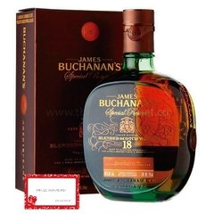 WHISKY BUCHANA'S 18 AÑOS. 750 ML