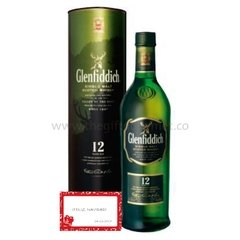 WHISKY GLENFIdDICH 12 AÑOS 750 ML