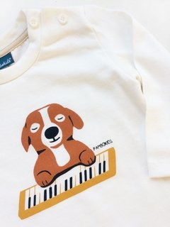Remera Piano songs - comprar online