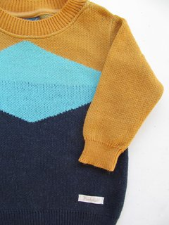 Sweater Zig-zag blue en internet