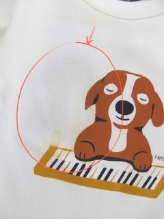 Remera Piano songs - outlet en internet