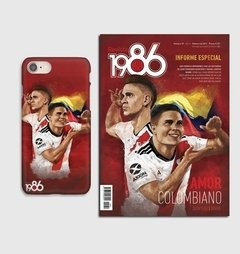 Funda Amor Colombiano iPhone 7 + Revista 1986 #79