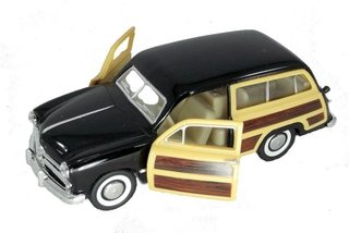 Ford Woody 1949 1/40 Metal Preto