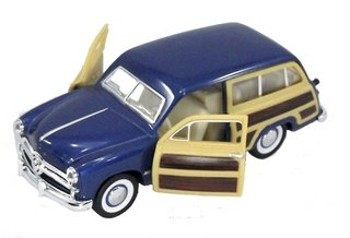 Ford Woody 1949 1/40 Metal Azul
