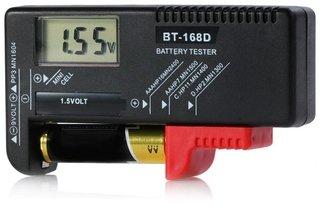Medidor Digital Pilha Teste Bateria AA / AAA / 9V Carga