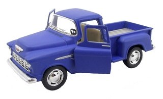 Chevy Stepside Pick-up 1955 1/32 Metal Azul