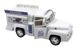 Ford F 100 1956 Ice Cream Miniatura 1/38