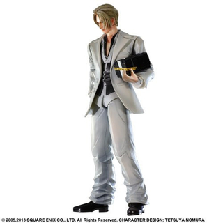 Final Fantasy Vii Rufus Shinra Play Arts Kai Square Enix