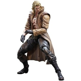 Liquid Snake Metal Gear Solid Play Arts Kai