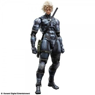 Metal Gear Solid Raiden Play Arts