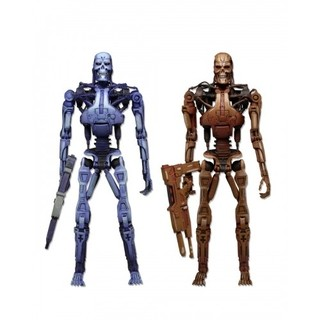 Endoskeleton Assault 2 Pack Robocop vs Terminator Neca
