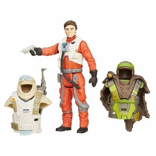 Star Wars 10 cm Armor Up Poe Dameron Hasbro Force Awakens