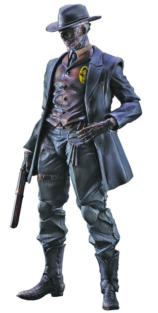Skull Face Metal Gear Solid V The Phantom Pain Play Arts Kai