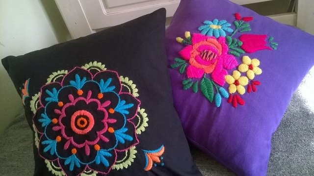 PROMO Mujer !   Pack de bordado Mexicano + Pack de bordado Mandalas - Desiree Caradonti