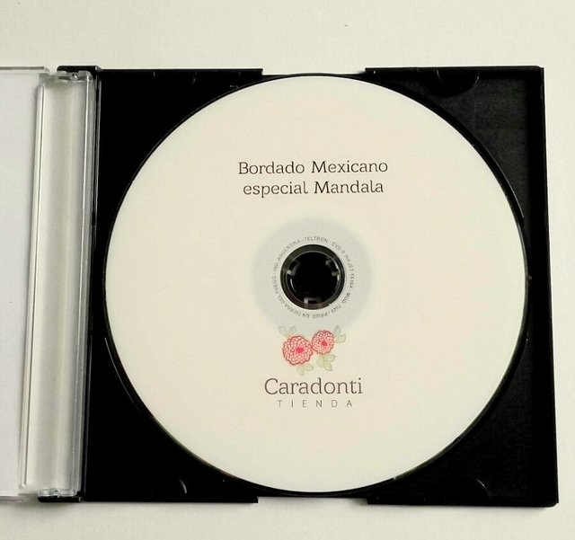 TUTORIAL Bordado Mexicano - On line - - tienda online