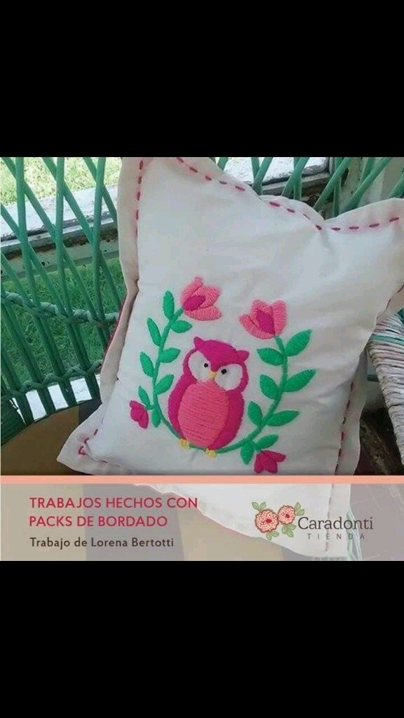 Pack de Bordado para Niñas - Desiree Caradonti