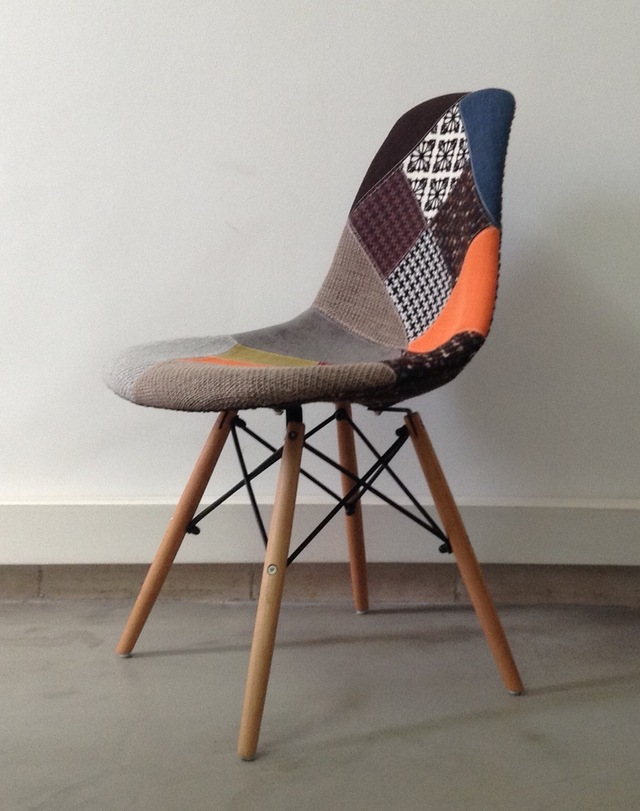 Silla Eames DSW Patchwork New Edition - comprar online