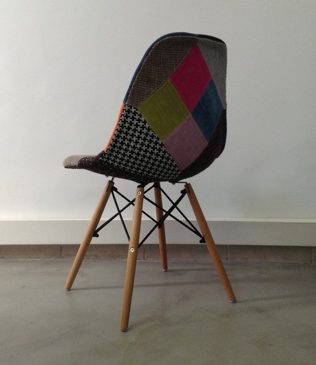 Silla Eames DSW Patchwork New Edition - Kikely