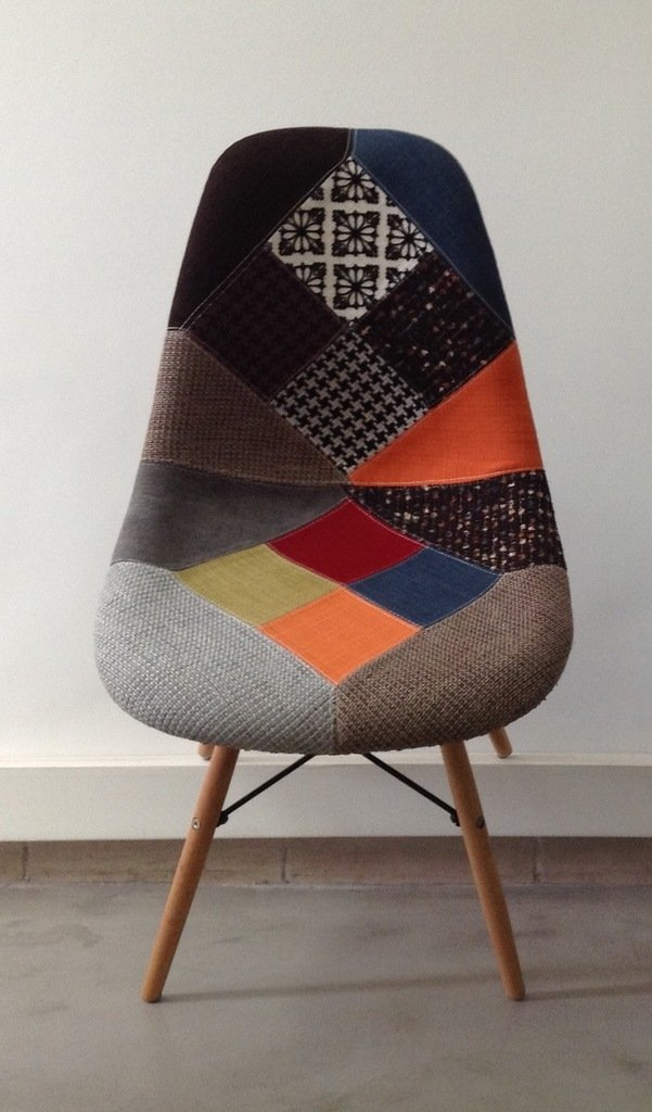 Silla Eames DSW Patchwork New Edition en internet