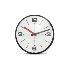 Ball Wall Clock negro y blanco
