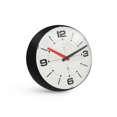 Ball Wall Clock negro y blanco - comprar online