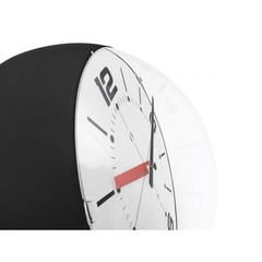 Ball Wall Clock negro y blanco - Kikely